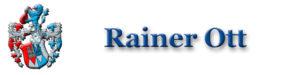 Rainer Ott Logo Schrift Header Wappen 1